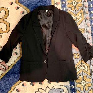 Frenchi 3/4 sleeve blazer large